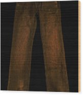 Pair Of Jeans 3 - Painterly Wood Print