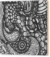 Paisley Day Wood Print