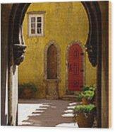 Palace Arch Wood Print