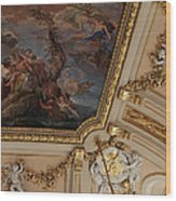 Palace Ceiling Detail Wood Print