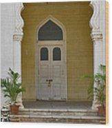 Palace Door Wood Print