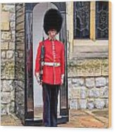 Palace Guard Wood Print