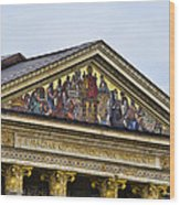 Palace Of Art - Heros Square - Budapest Wood Print