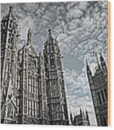 Palace Of Westminster Wood Print