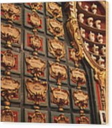 Palace Pharmacy Wood Print