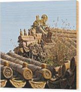 Palace Roof Wood Print