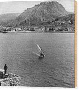 Palamidi Fortress - Greece - C 1907 Wood Print