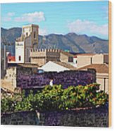 Palermo View Wood Print