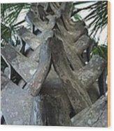 Palm Art Wood Print