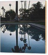 Palm Desert California Wood Print
