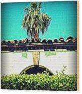 Palm Springs Desert Spanish 4 Wood Print by Randall Weidner