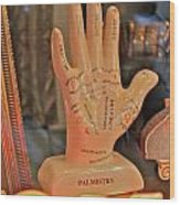 Palmistry Wood Print by Jerry Patterson