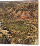 Palo Duro Canyon Texas Wood Print