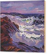 Palos Verdes Beach Wood Print