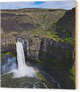 Palouse Falls Wood Print