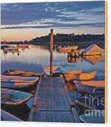 Pamet Harbor Wood Print
