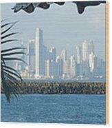 Panama City Panama Wood Print