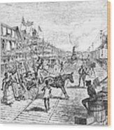 Panama Railway, 1888 Wood Print by Granger