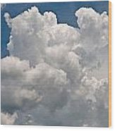 Panoramic Clouds Number 1 Wood Print