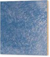 Panoramic Clouds Number 7 Wood Print