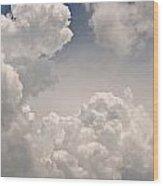 Panoramic Clouds Number 9 Wood Print
