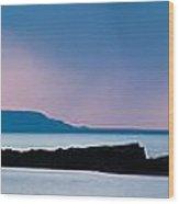 Panoramic View Of Skerries Islands Wood Print