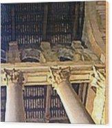 Pantheon Columns Wood Print