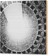 Pantheon Oculus Wood Print