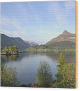 Pap Of Glencoe Wood Print