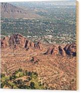 Papago Park Arizona Wood Print