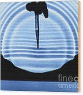 Parabolic Reflection Wood Print