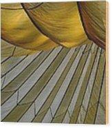 Parachute Shade Wood Print