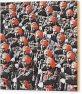 Parade March Indian Army Wood Print