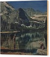 Paradise Lake Revisited Wood Print