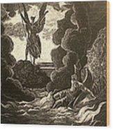 Paradise Lost No.12 Of 39 Wood Print