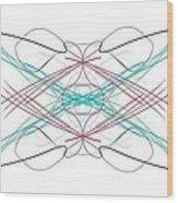 Parallel Universe 4 Wood Print