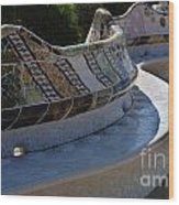 Parc Guell Spain Wood Print