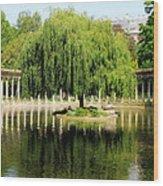 Parc Monceau Paris Wood Print