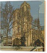 Paris 03 Wood Print
