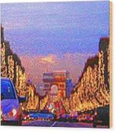 Paris 04 Wood Print
