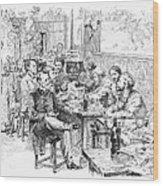 Paris: Chat Noir, 1889 Wood Print