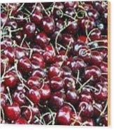 Paris Cherries Wood Print