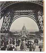 Paris Exposition, 1889 Wood Print