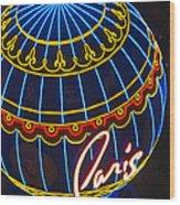 Paris Hotel Las Vegas Wood Print