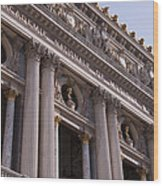 Paris Opera House IIi   Exterior Wood Print