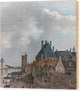 Paris: Pont Neuf, 1637 Wood Print