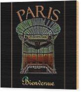 Paris Poster Art 1 Wood Print