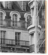 Paris Reflections 1 Wood Print