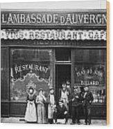 Paris: Restaurant, C1900 Wood Print