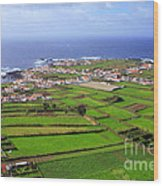 Parish In The Azores Wood Print